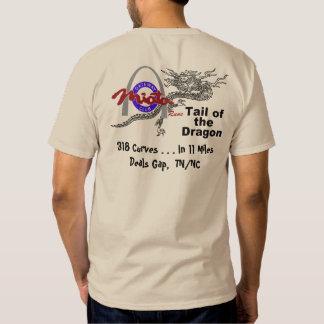 Gateway Miata Club Runs Tail Of The Dragon T-shirt