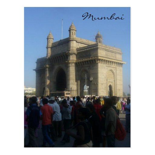 gateway mumbai post card