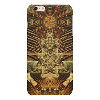 Gateway of the Ancients Mandala Glossy iPhone 6 Plus Case