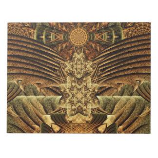 Gateway of the Ancients Mandala Note Pad