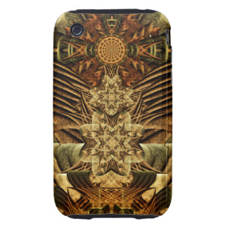 Gateway of the Ancients Mandala Tough iPhone 3 Case