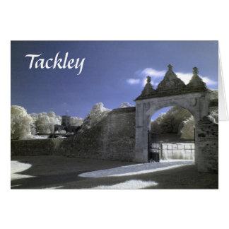 Gateway & St Nicholas Church, Tackley, Infrared Card