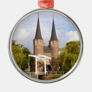 Gateway to Delft Metal Ornament