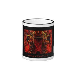 Gateway to Eternal Torture Ringer Coffee Mug