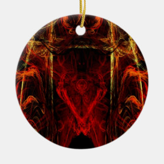 Gateway to Eternal Torture Double-Sided Ceramic Round Christmas Ornament