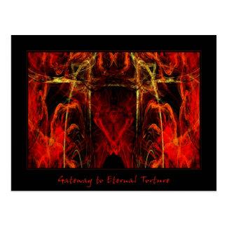 Gateway to Eternal Torture Postcard