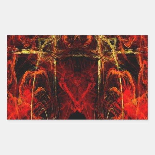 Gateway to Eternal Torture Rectangle Sticker