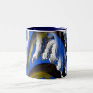 Gateway to Eternity Two-Tone Coffee Mug