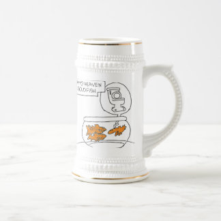 Gateway to Heaven for goldfish. Beer Stein