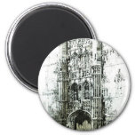 Gateway to Kings College Refrigerator Magnets