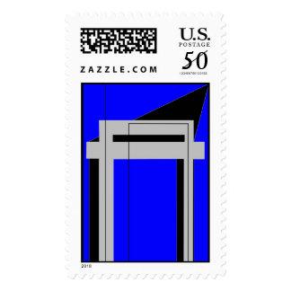Gateway to Life - Blue Postage