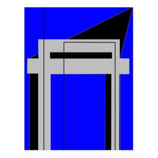 Gateway to Life - Blue Postcard