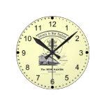 Gateway to New England,New Haven Railroad Round Clocks