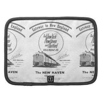 Gateway to New England,New Haven Railroad Folio Organizer
