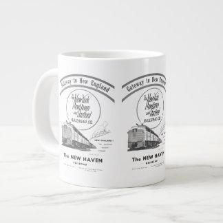 Gateway to New England,New Haven Railroad Large Coffee Mug