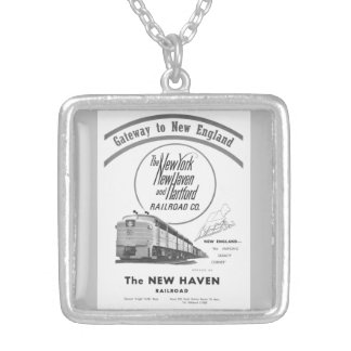 Gateway to New England,New Haven Railroad Necklace