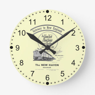 Gateway to New England,New Haven Railroad Round Clock