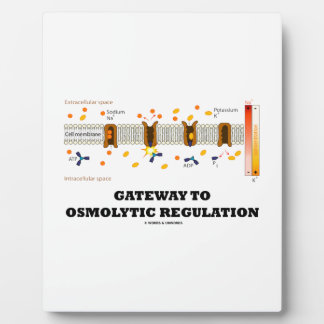 Gateway To Osmolytic Regulation (Active Transport) Plaque