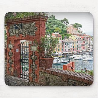 Gateway to Paradise - Portofino, Italy Mousepad