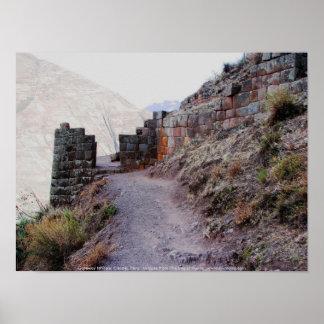 Gateway to Pisac Citadel, Peru Print
