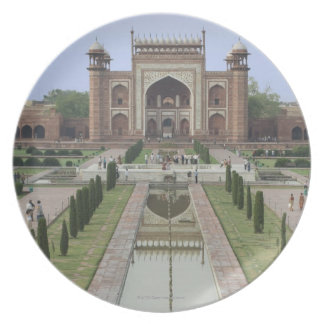Gateway to Taj Mahal, India Dinner Plate