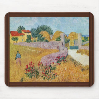 Gateway To The Farm By Vincent Van Gogh Mouse Pad