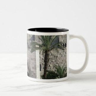 Gateway to the Old City Two-Tone Coffee Mug