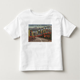 Gateway to the Uinta Mountains - Evanston, WY T-shirt