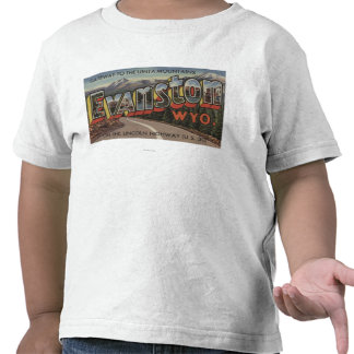 Gateway to the Uinta Mountains - Evanston, WY T-shirts
