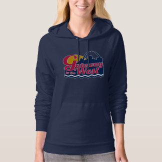 Gateway to the West Hooded Pullover