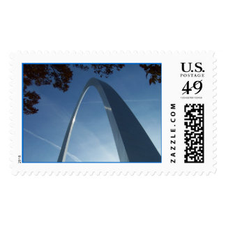 Gateway to the West Postage Stamps