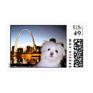 Gateway to the West - St. Louis Arch Stamps