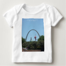 Gateway to West Baby T-Shirt