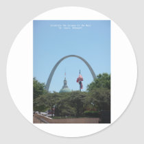 Gateway to West Classic Round Sticker