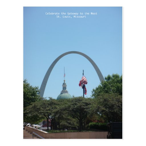 Gateway to West Post Card