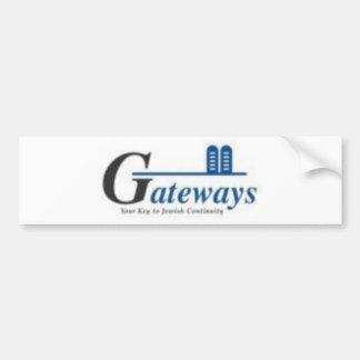 gateways bumper sticker