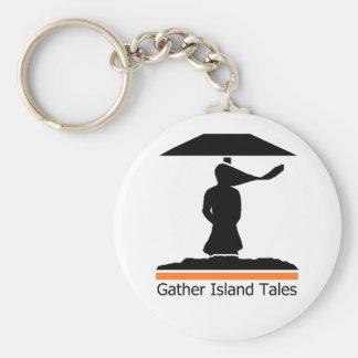Gather Island Tales Logo Keychain