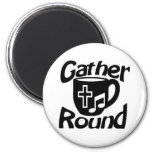 Gather Round Fridge Magnets