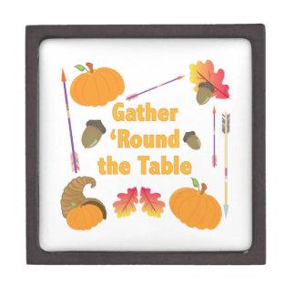 Gather Round Jewelry Box