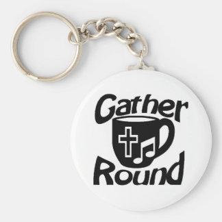 Gather Round Keychains