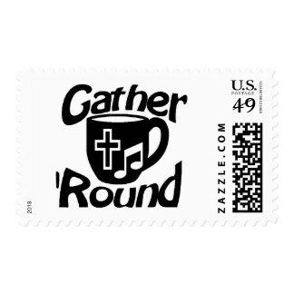 Gather Round Stamp