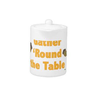 Gather Round Teapot