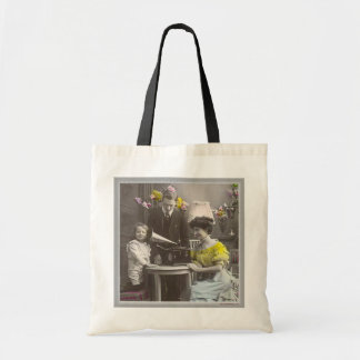 Gather 'round the Victrola Tote Bag