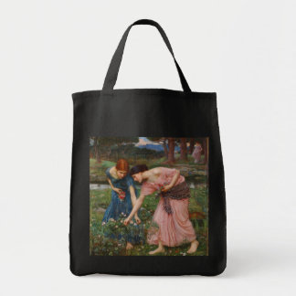 Gather Ye Rosebuds by John W. Waterhouse Tote Bag