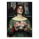 Gather Ye Rosebuds Greeting Card