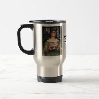 Gather Ye Rosebuds 15 Oz Stainless Steel Travel Mug