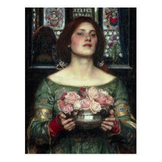 Gather Ye Rosebuds Postcard