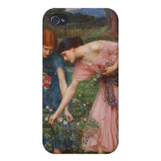 Gather Ye Rosebuds Pre-Raphaelite  Cover For iPhone 4