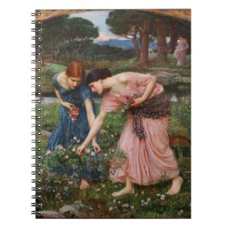 Gather Ye Rosebuds Pre-Raphaelite Notebook