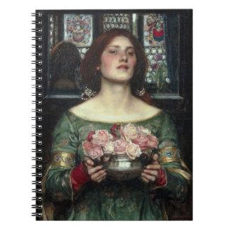 Gather Ye Rosebuds Spiral Notebook
